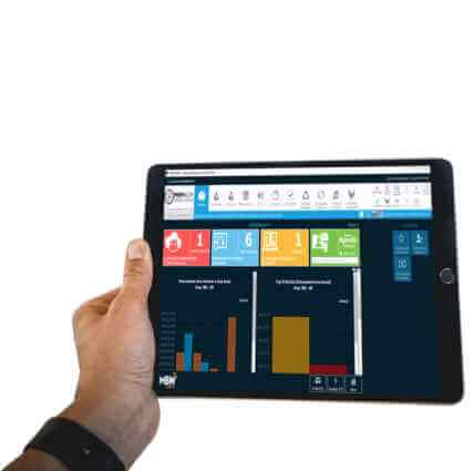 Sistema ERP - Tablet